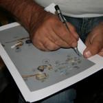 départ Régourdou expo neandertal à la loupe 0616 081
