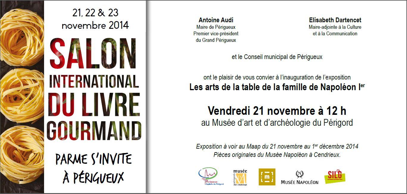 Silg carton invitation mus e d 39 art et d 39 arch ologie du - Salon de l agriculture invitation gratuite ...