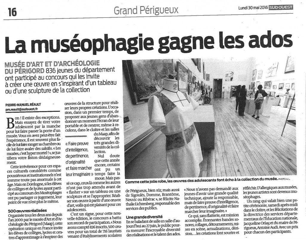 sud ouest 300516