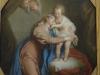 Vierge à l'enfant, XVIIIe, Coypel