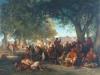 Le repos du Vendredi, 1863, Hirsch