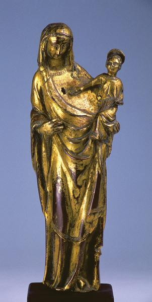vierge à l'enfant de Notre Dame de Sanilhac, XIIIe