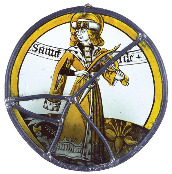 vitrail de l'église Saint-Silain, Xve, Périgueux