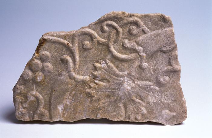 morceau de sarcophage issu de cimetière de Saint-Silain à Périgueux